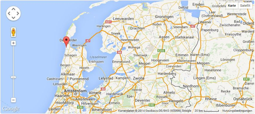 holland julianadorp karte Ferienhaus Seestern, Strandslag 162, Julianadorp   Lage / Karten